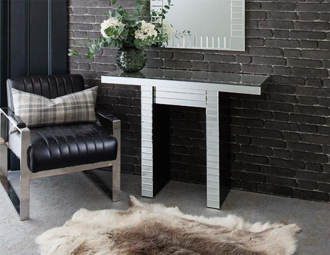 Modern Console tables Mirrored Console Tables You must Have LEXINGTON CONSOLE