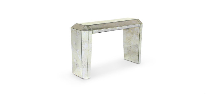 Modern console tables mirrored console tables you must by koket modern