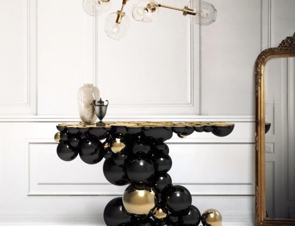 Modern Consoles for your Luxury Interior Design Projects Newton Console by Boca do Lobo
