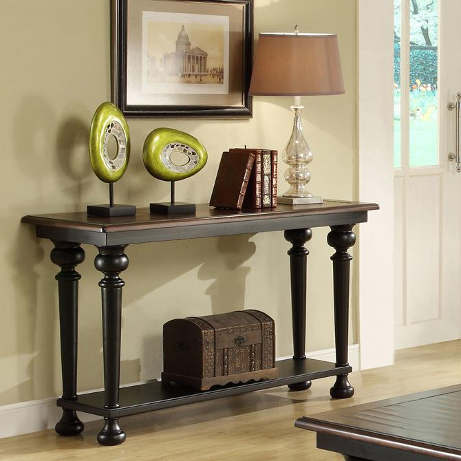 Wooden Collection of Top Console Tables Riverside Furniture Williamsport Console Table