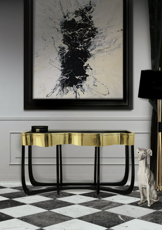Bedroom Console Tables for a Modern Decor bedroom console tables Bedroom Console Tables for a Modern Decor sinuous