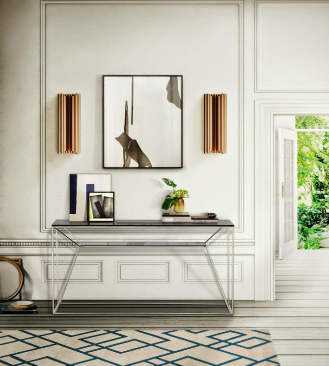 Modern Contemporary Interior Design Hdb: 25 Modern Console Tables For Contemporary Interiors