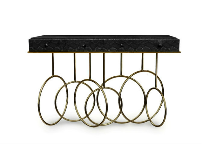 Contemporary Console Table by Koket