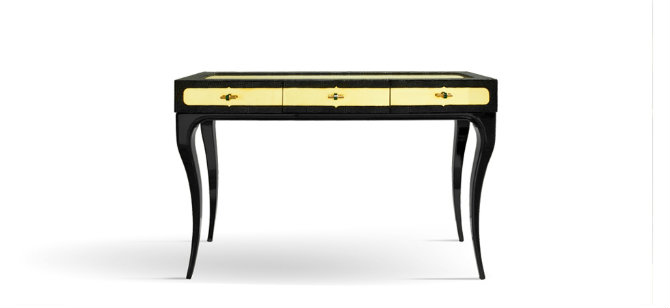 Elegant Console Table with drawers by Koket