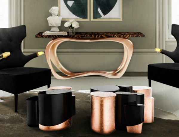 10 new Consoles at Salone Del Mobile 2016