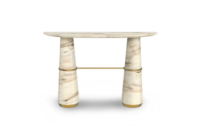 Marble modern Console Tables by Brabbu