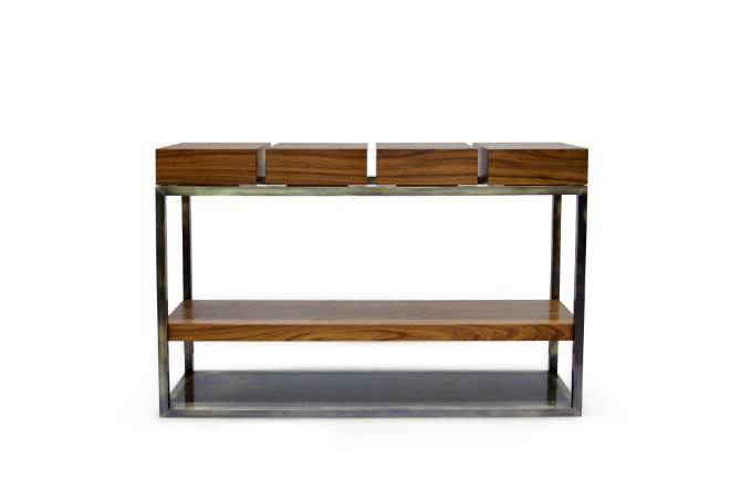 Wood console table Modern console tables Modern console tables by Brabbu cassis sideboard 1 HR