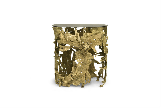 Gold console table small console tables 5 Small Console Tables cay console 2 HR