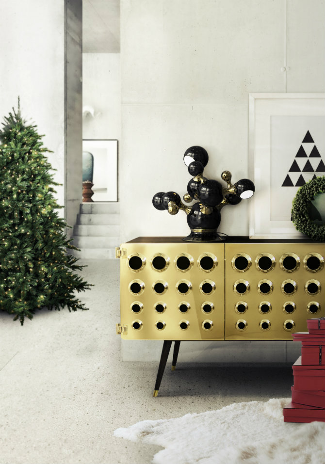 entrance console table for contemporary interiors