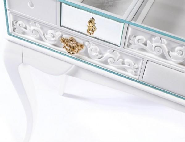 Mondrian White Console Table by Boca do Lobo