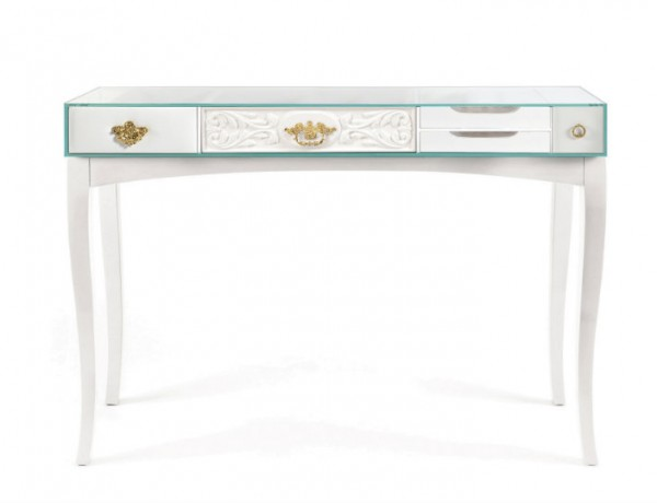 White console table modern console tables for White contemporary console table