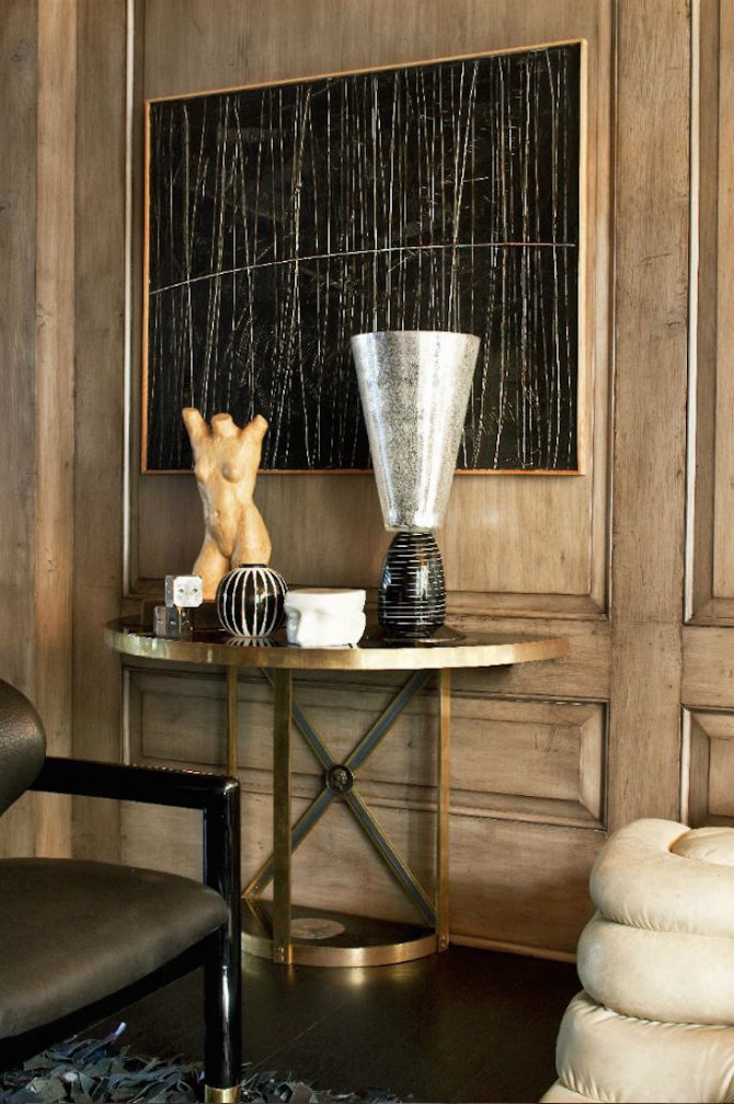 kelly wearstler gold black small console tables 5 Small Console Tables kelly wearstler gold black5 1