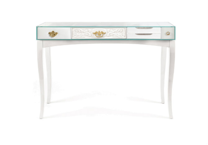 White console table for bedrooms