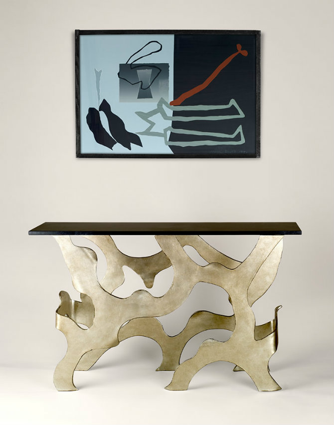 Montrose Modern Console Table by Adam Williams Design