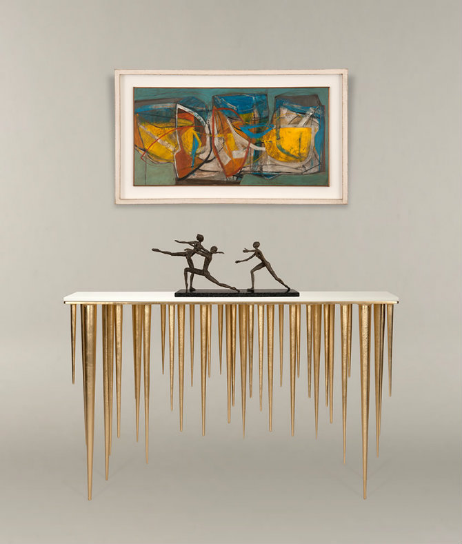 Icicle Console Table