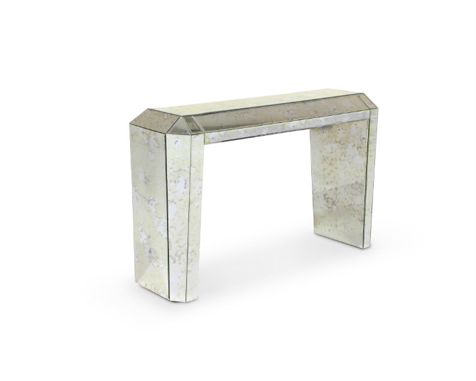 mirrored console table modern console table How to Choose a Modern Console Table tamara console 1