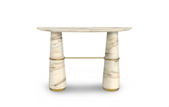 Marble Console Table salone del mobile Design Trends for Salone Del Mobile 2016 agra console 1 HR