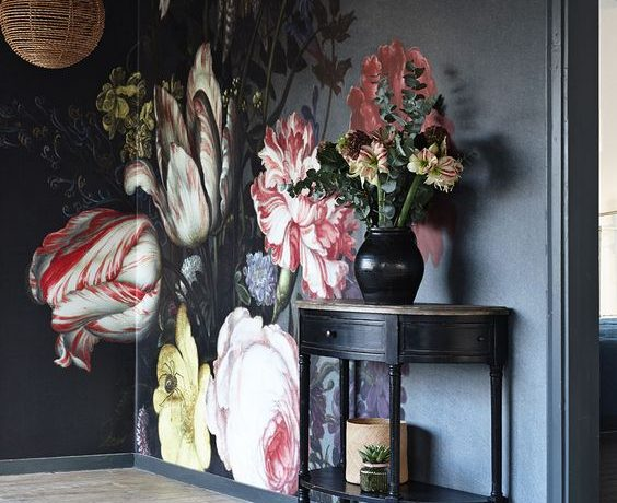 In this article, we will cover a line of consoles (of several styles) with gorgeous floral pattern backdrops in a wide range of settings.