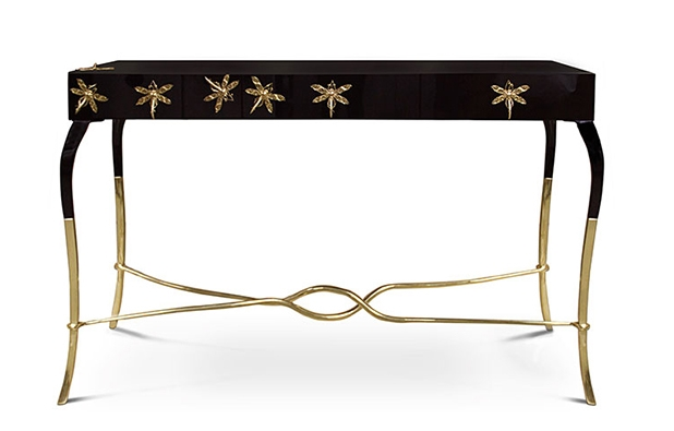 Luridae console by KOKET Console Tables Inspired by Nature 10 Astonishing Console Tables Inspired by Nature luridae console 3