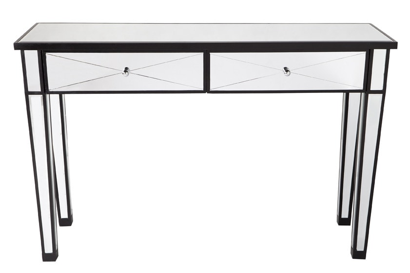 taylor llorente 10 Elegant Console Tables Designed by Taylor Llorente mirrored furniture apolo mirror console table cl 2