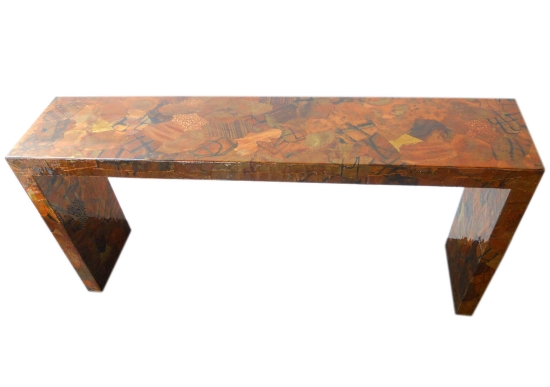 Patchwork Console Tables Patchwork Console Tables 5 Exquisite Patchwork Console Tables patchworkmetal1 2