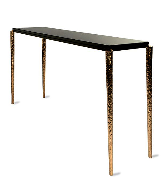 taylor llorente 10 Elegant Console Tables Designed by Taylor Llorente st bronze console table m