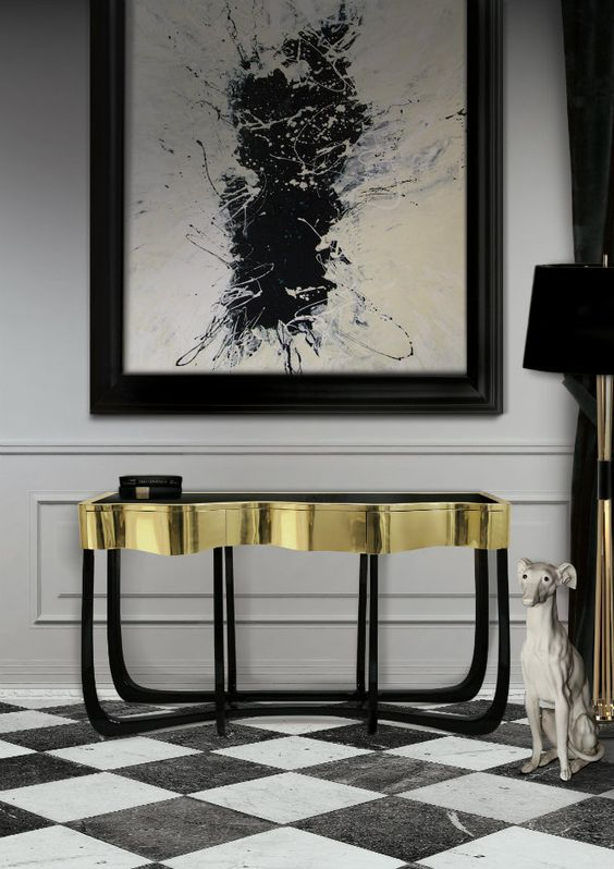 Sinuous Elegant Brass Console Table by Boca do Lobo Elegant Brass Console Table Sinuous Elegant Brass Console Table by Boca do Lobo 759ff34c03bd62e5630846d3078802bf