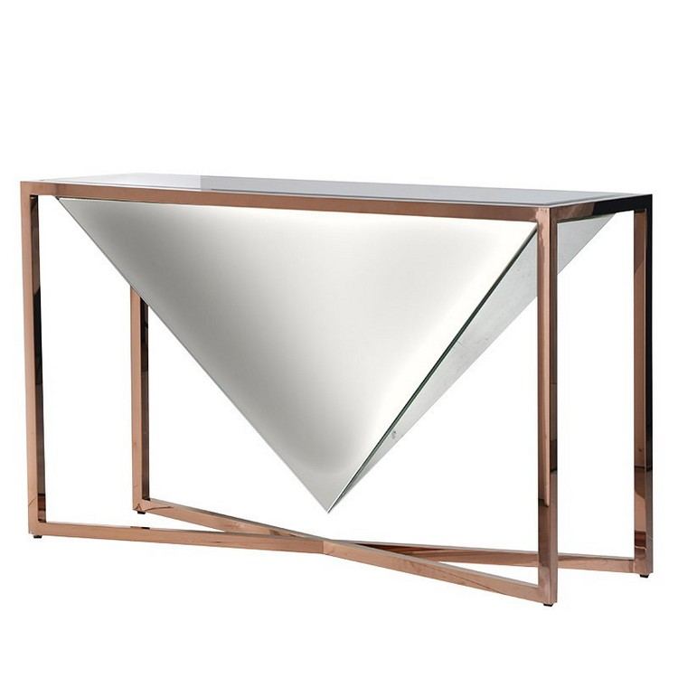 copper console tables  copper console tables Copper Console Tables to Compliment Your Interior copper tables Elixir Console Table