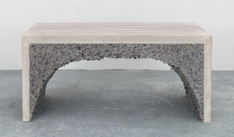 crushed glass 1 (2) stone tables Crushed Stone Tables by Samuel Amoia crushed glass 1 2