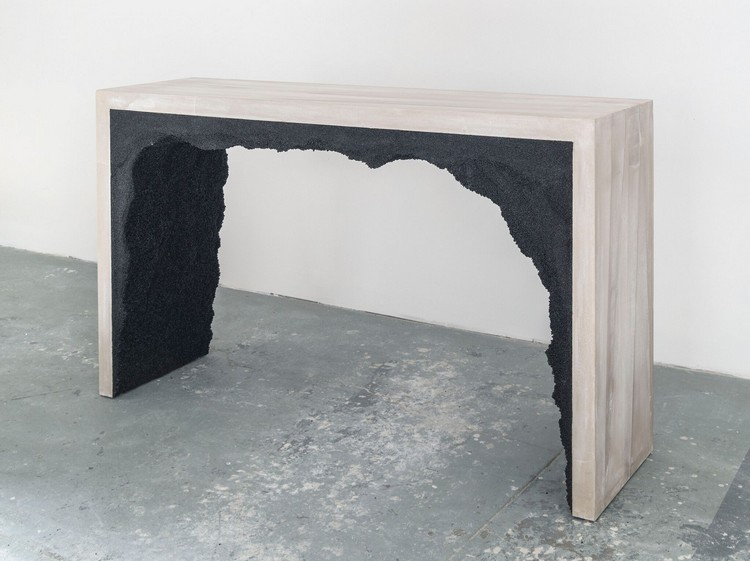 stone tables stone tables Crushed Stone Tables by Samuel Amoia crushed glass 1 3