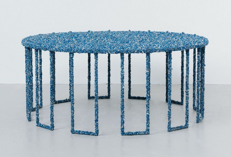 crushed glass 1 (8) stone tables Crushed Stone Tables by Samuel Amoia crushed glass 1 8