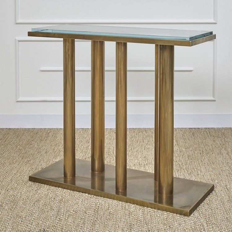 kelly EJV 1501-44FM_COLOR.BZ-AM_VIEW.2 console tables 4 Incredible Console Tables By Kelly Wearstler kelly EJV 1501 44FM COLOR