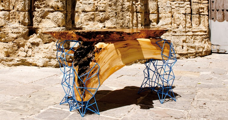 console tables console tables Amazing Console Tables From Ancient Trees by Maximo Riera reira 161