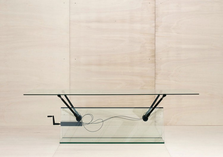 translucent console tablesMan-Machine-Glass-Furniture-by-Konstantin-Grcic-Yellowtrace-16 translucent console table Hot Trend: 7 Translucent Console Tables translucent console tablesMan Machine Glass Furniture by Konstantin Grcic Yellowtrace 16
