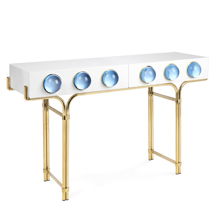 adlerglobo_console (1) console tables Glamorous Console Tables By Jonathan Adler adlerglobo console 1