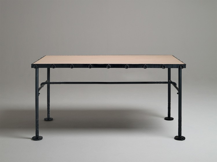 console 1.+B&G+Desk+'Chequerboard' Console Tables Console Tables You Can See at David Gill Gallery console 1