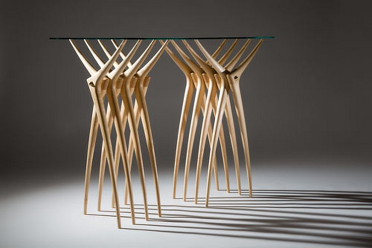 CONSOLE TABLE Console Table Ardú Console Table By Martin Gallagher consoleardu console table 3