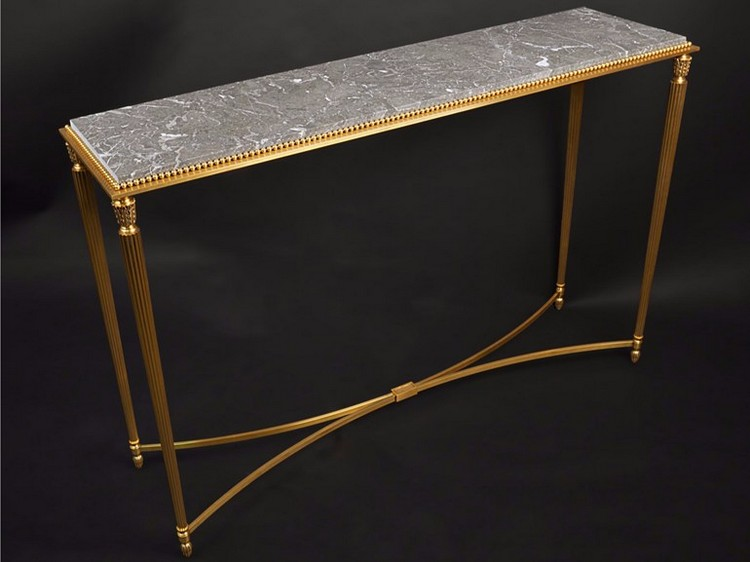 Goldb_43650 Console Table Tisserant 235660 Relb6db5305 Console Tables 10  Luxurious Gold ...
