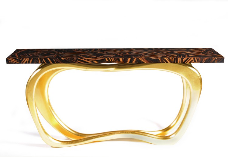 goldinfinity-gold Console Tables 10 Luxurious Gold Console Tables goldinfinity gold
