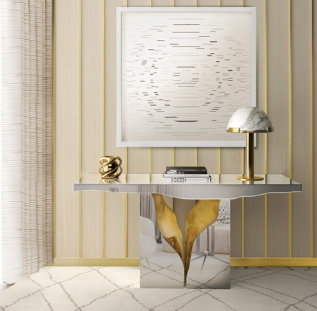 lapiaz-console-02 Console Tables Incredible Console Tables With Metal Detailing lapiaz console 02