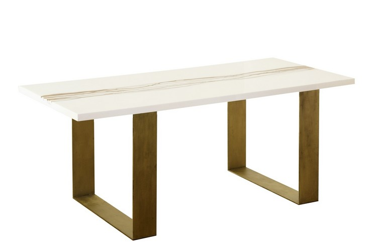 motable_or_végétal console tables Console Tables You Can Find At Maison et Objet motable or v  g  tal