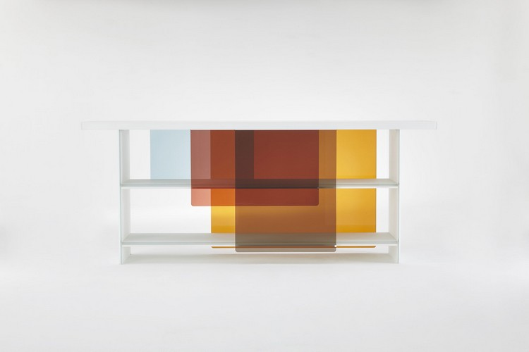 color trends color trends 2017 Color Trends to Style Your Console Table trend27a layers nendo glas italia yatzer mdw16 0 1