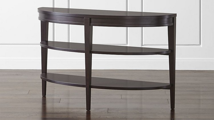trendColetteDemiluneConsoleTableSHF16_16x9 color trends 2017 Color Trends to Style Your Console Table trendColetteDemiluneConsoleTableSHF16 16x9