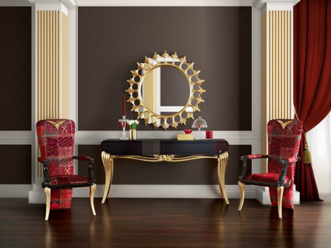 console tables console tables Top 5 Golden Modern Console Tables to Inspire You Today 5828d7d0ed107c4e7c6f8891d8483dd8