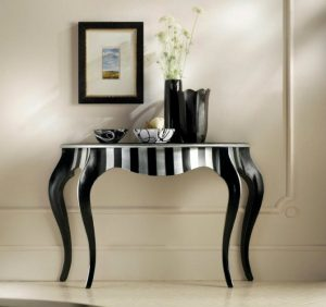 Console Tables console tables Black and White Contemporary  Console Tables CH706main Copy 300x282
