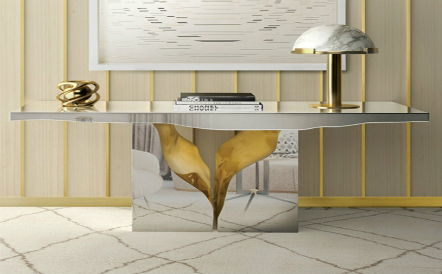 The Most Amazing Diamond Inspired Modern Console Tables