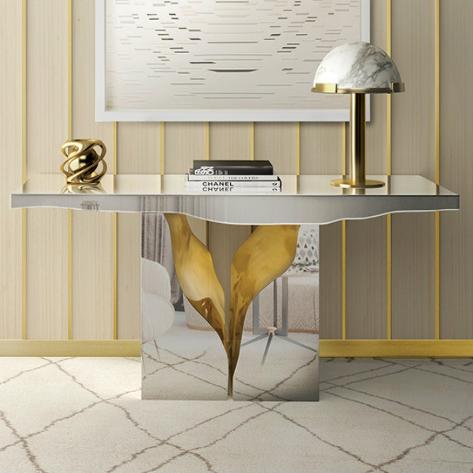 console tables console tables The Most Amazing Diamond Inspired Modern Console Tables Main
