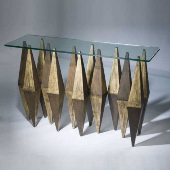 console tables The Most Amazing Diamond Inspired Modern Console Tables T3675a