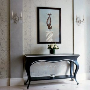 console table Console Tables Best Shelphed Console Tables for an Organized Space console table designs 48 inspiration effective on console table designs