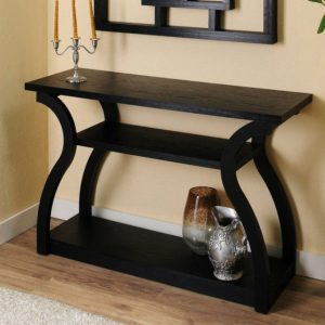 console tables console tables Best Shelphed Console Tables for an Organized Space console table designs 6 ideas innovative on console table designs 300x300